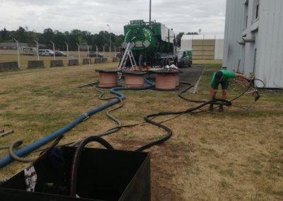 Nettoyage pompage cuve