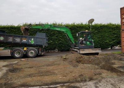 Martens cuve services excavation pollution