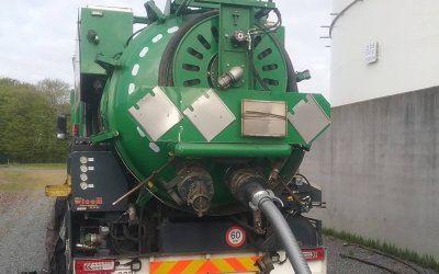 Nettoyage industriel Tank 25.000 m3