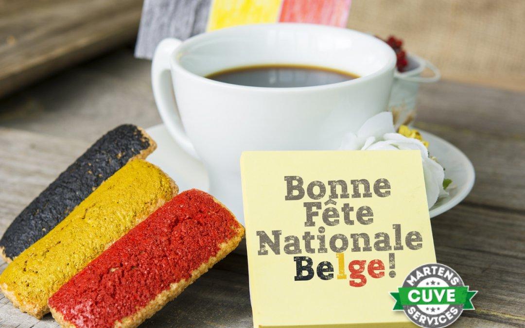 Martens Cuve services vous souhaite une excellente fête Nationale Belge