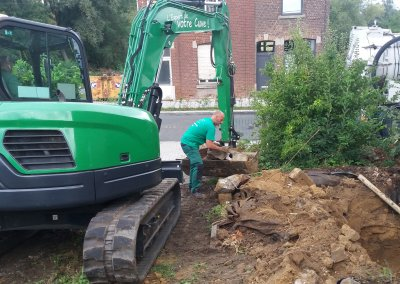 Excavation cuve