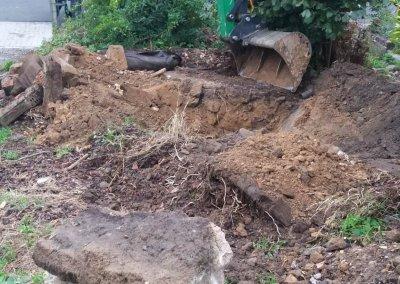 excavation citerne